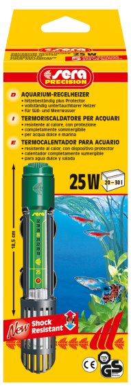 Sera Aquariumverwarming 25W