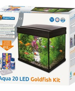 Superfish Aqua 20 led goldfish kit