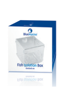 Blue marine fish isolation box 3-0