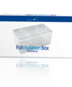 Blue marine fish isolation box 4-0