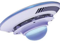 blue marine ufo led optical lens-0